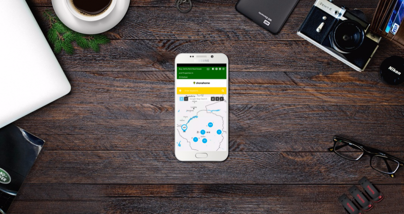 The first real estate app in Zimbabwe